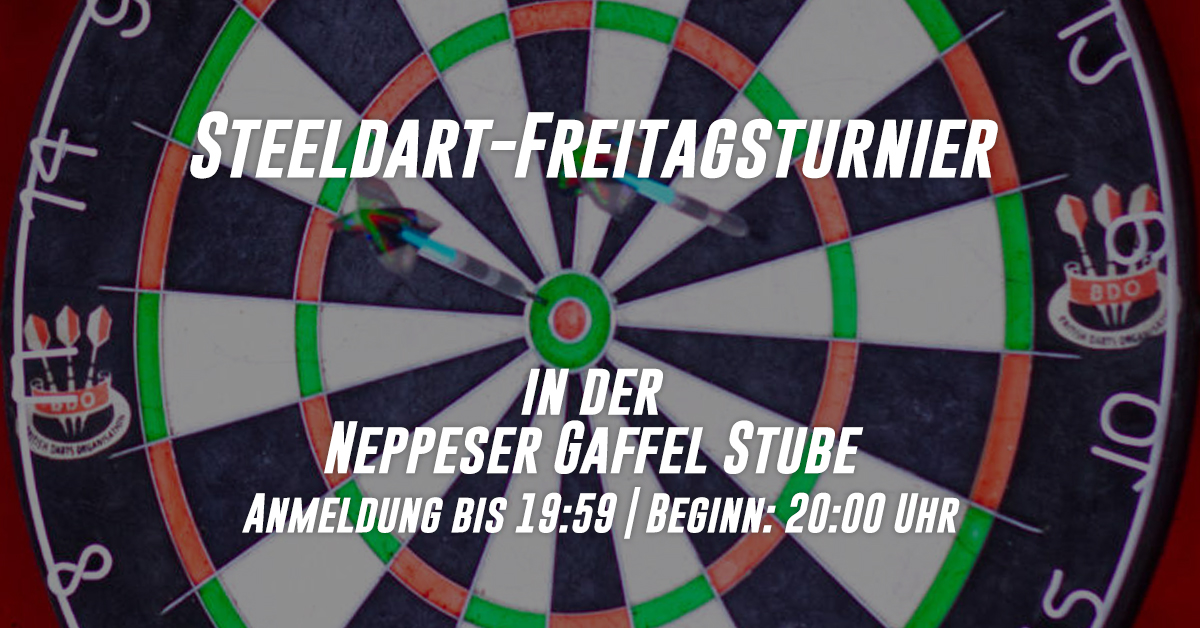 steel-dart-neppesergaffelstube-freitags-turnier